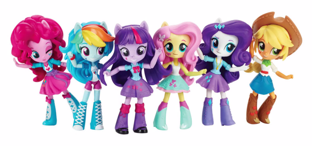 Toys For 7 And Up Mane Provided : Ponyfica tu mundo mini equestria girls juegos juguetes y