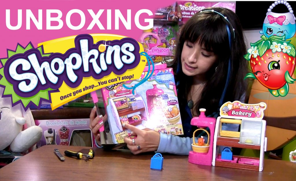 Unboxing Shopkins Fabrica De Pan