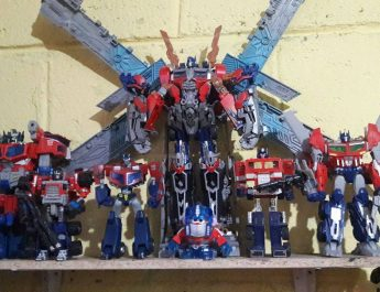 Colección Transformers de Leo Guerrero