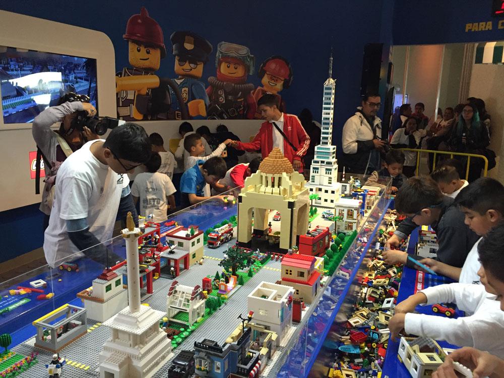 Construye tu Ciudad lego papalote