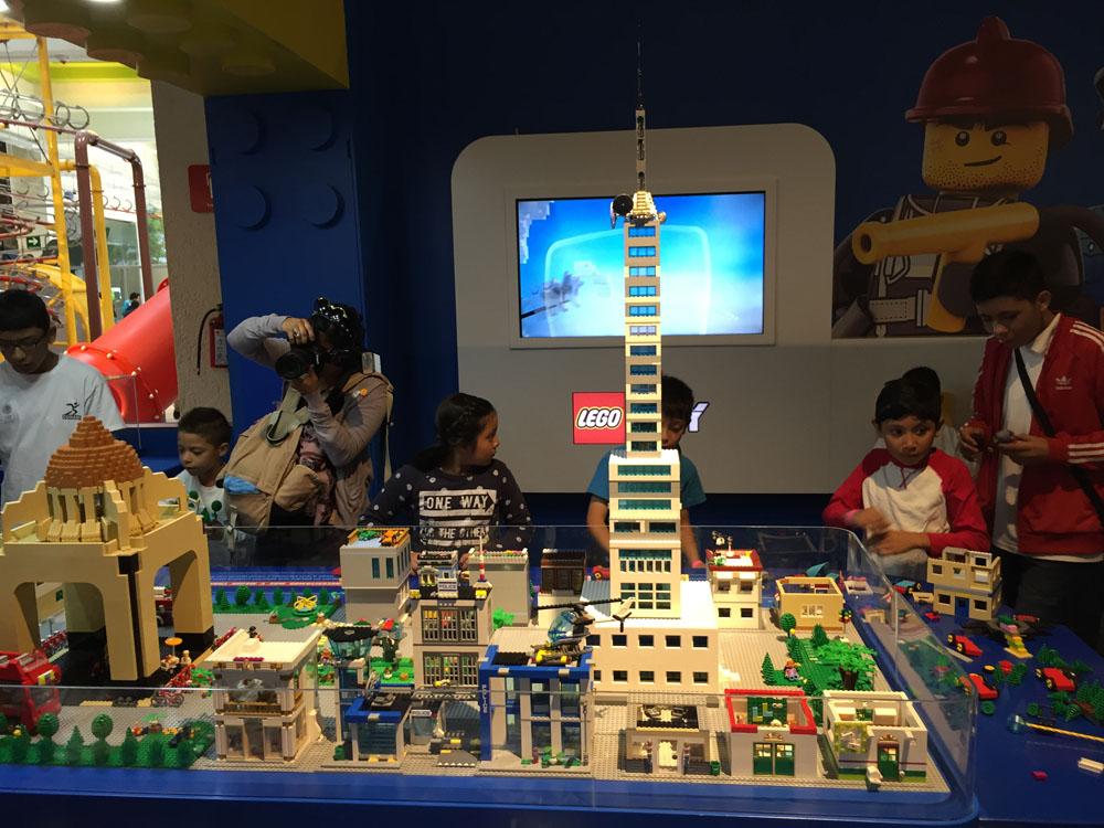 Construye tu Ciudad lego papalote museo del niño