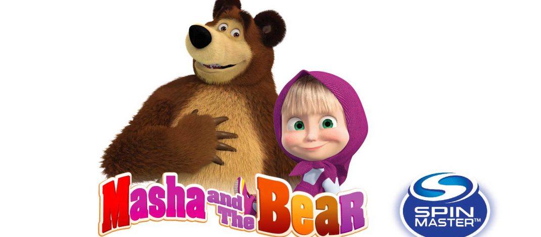 Spin Master lanza línea de Masha y el oso