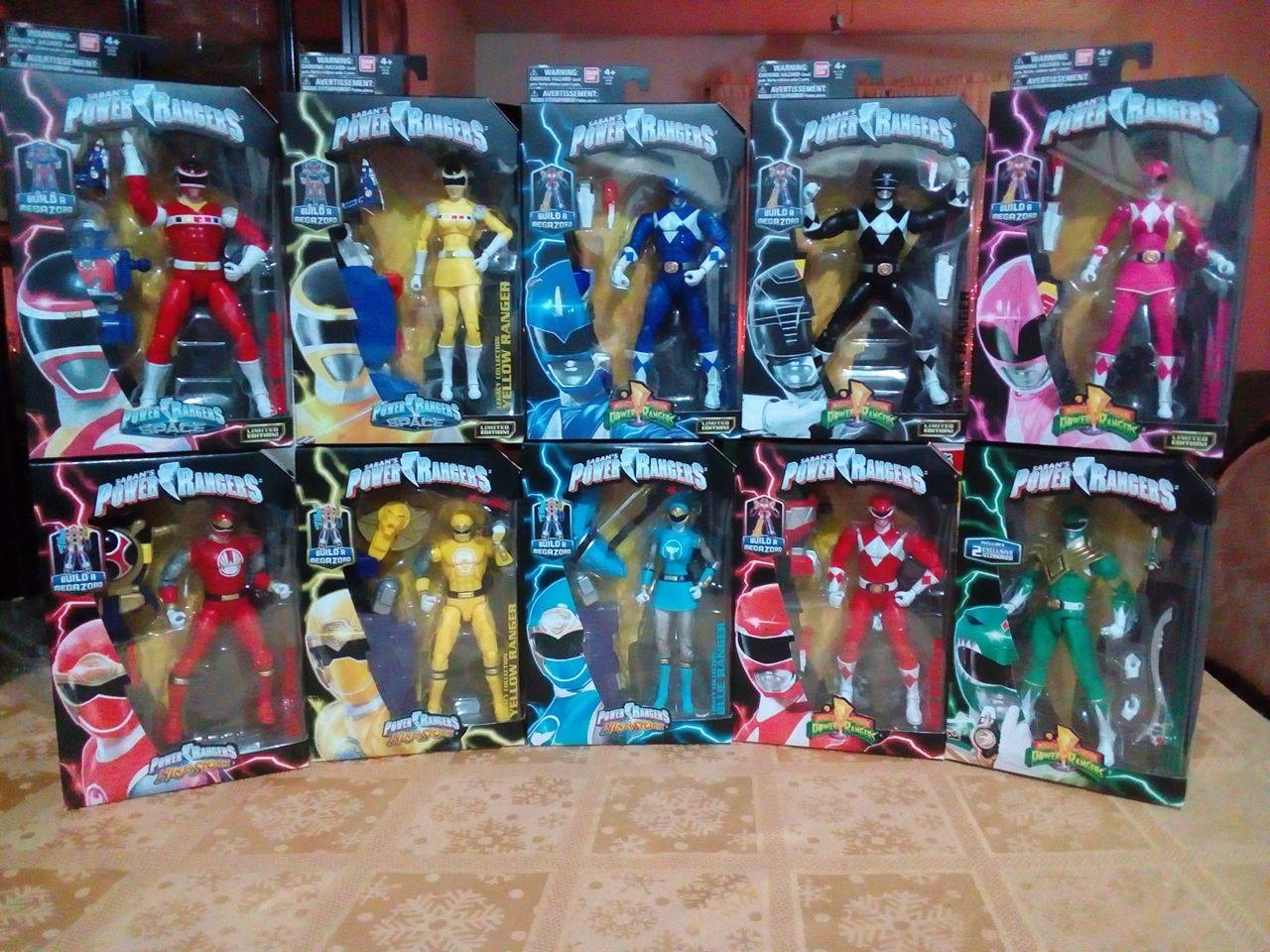 Coleccion Power Rangers