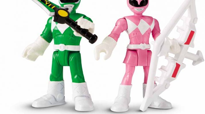 Juguetes Power De Galeria Morphin Imaginext Mighty Rangers IvY6bf7gym