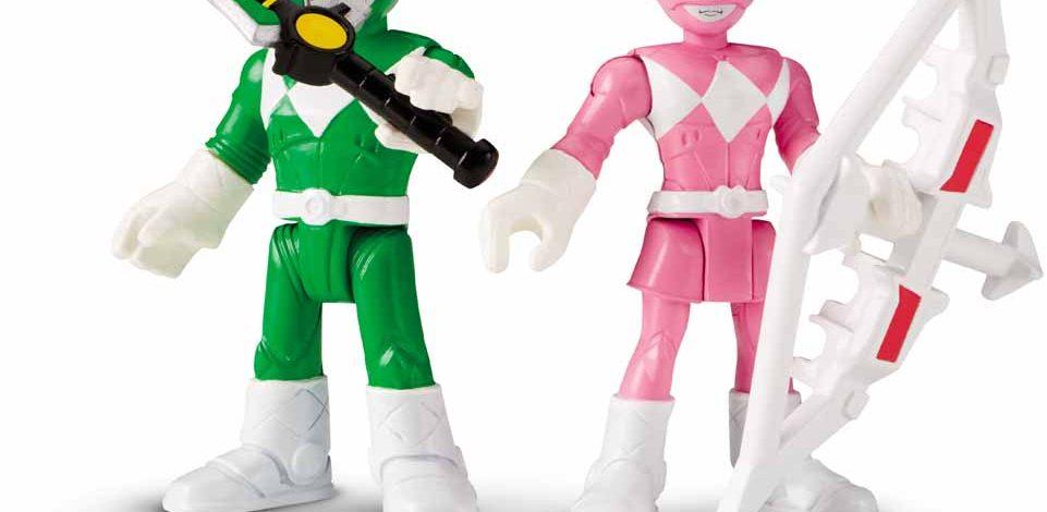Galeria juguetes Imaginext de Mighty Morphin Power Rangers