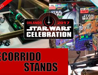 Star Wars Celebration Stands