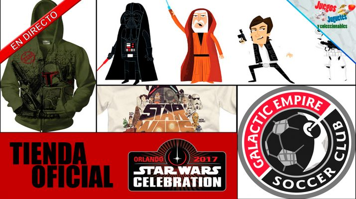 star wars celebration 2017 tienda