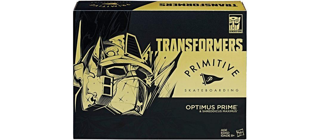 TRANSFORMERS PRIMITIVE OPTIMUS PRIME en SDCC 2017