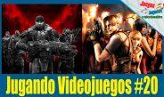 Jugando Videojuegos en vivo #20 – Gears y Resident Evil 4