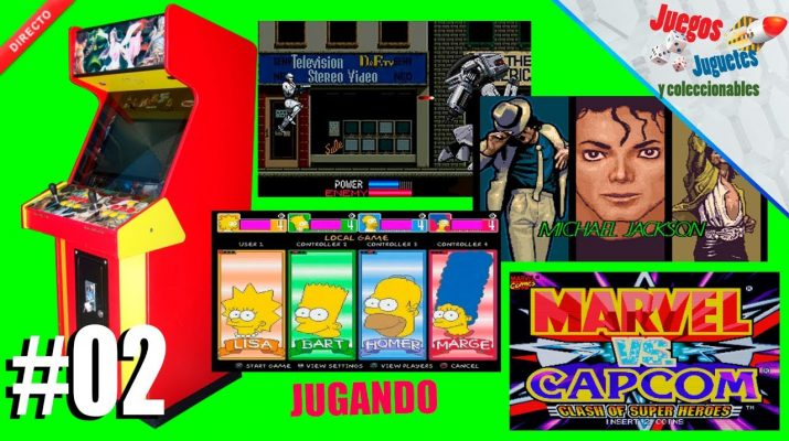 arcade simpsons