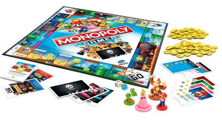 Hasbro Y Nintendo Monopoly Gamer Juegos Juguetes Y Coleccionables