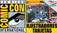 Comic Con 2017 – Ilustradores y tarjetas