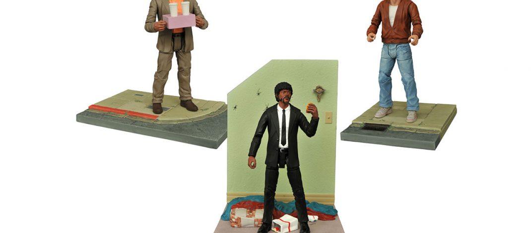 Nuevas figuras de acción de Pulp Fiction