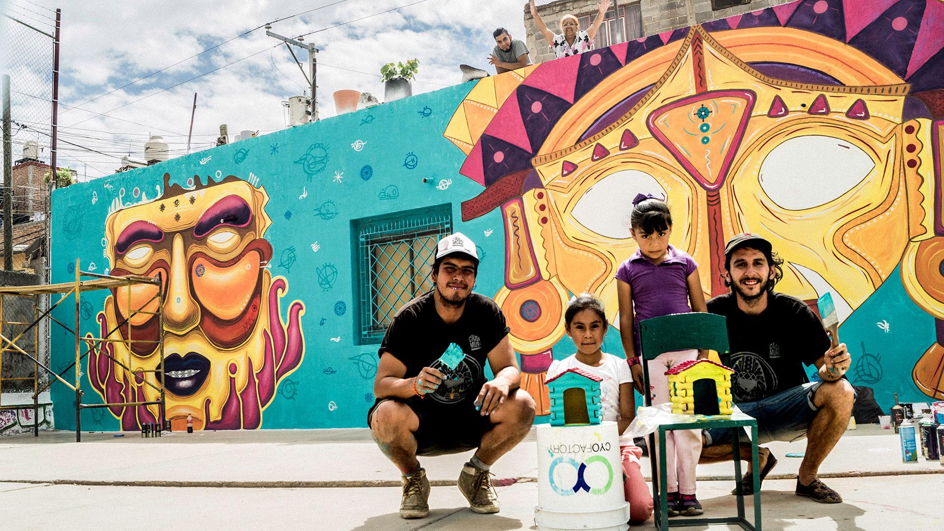 Comex por un m xico bien hecho ciudad mural zacatecas for Arte colectivo mural