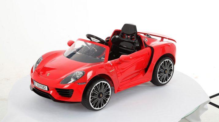 Porsche Rojo