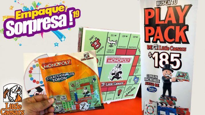 Empaque Sorpresa Hasbro Gaming Y Little Caesars Juegos Juguetes