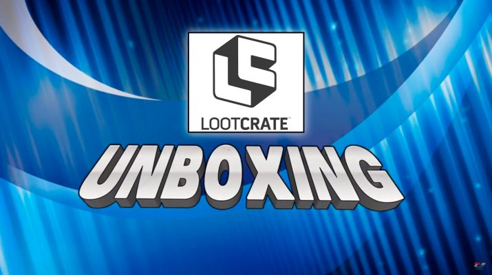 loot crate unboxing