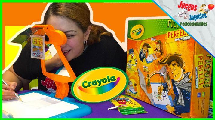 Picture perfect de Crayola - Unboxing - Juegos Juguetes y Coleccionables