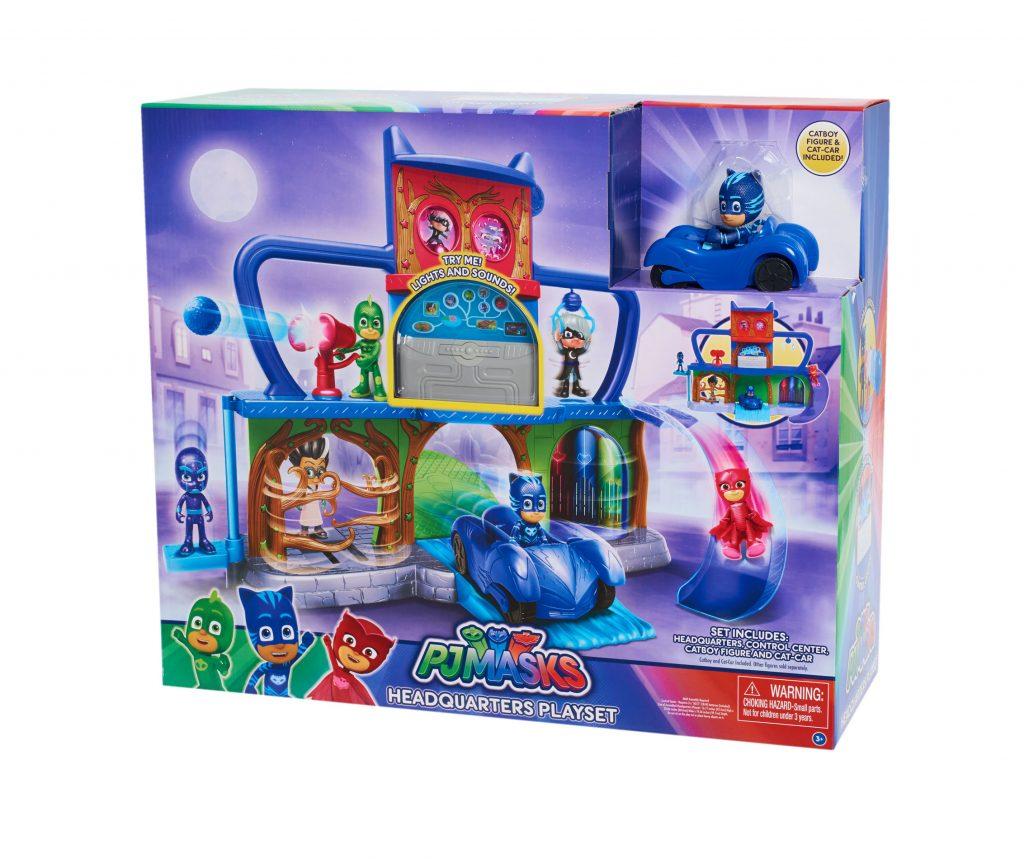 conoce los nuevos juguetes de pj masks h roes en pijamas juegos juguetes y coleccionables. Black Bedroom Furniture Sets. Home Design Ideas