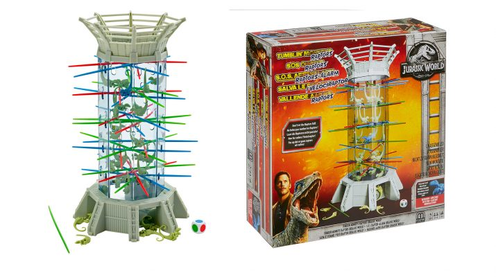 Mattel Games Trae A La Mesa A Jurassic World Jjyc