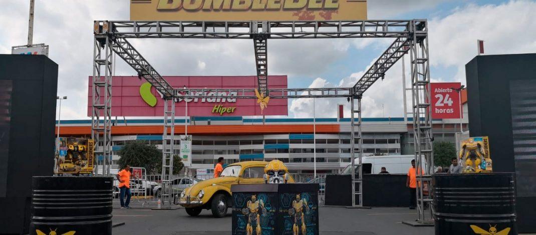 Bumblebee regresa a la Tierra y visita Monterrey