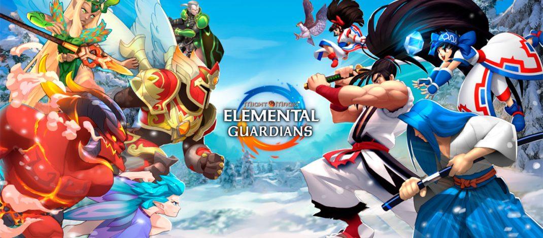 Samurai Shodown en Might & Magic Elemental Guardians