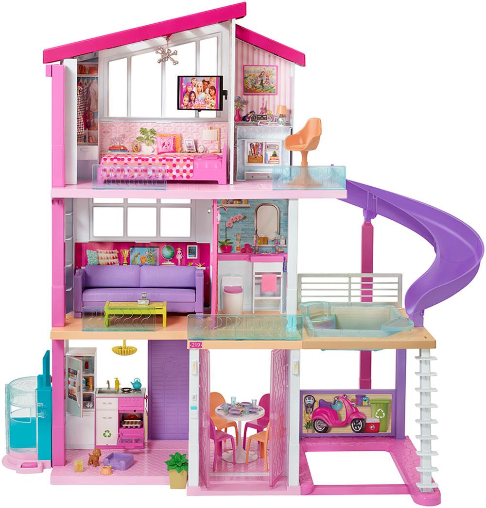 Barbie Casa 18 Juegos Juguetes Y Coleccionables