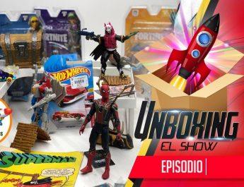 iron spider unbox