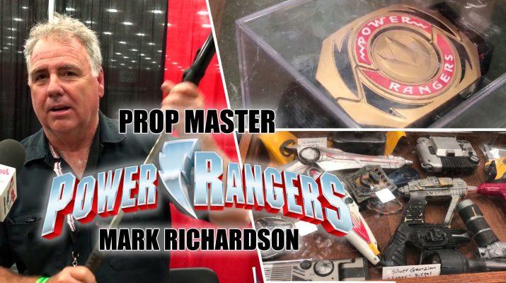 power rangers props
