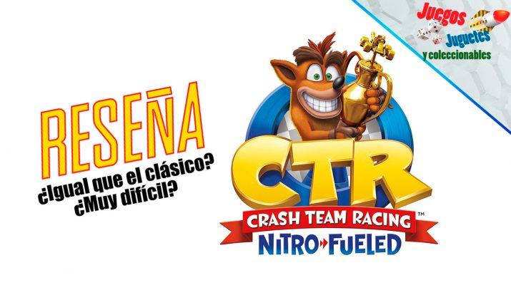 Nitro-Fueled Crash Bandicoot