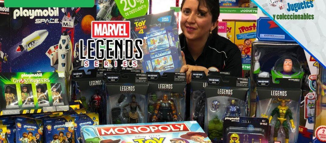 Juguetron: Marvel Legends ENDGAME, Playmobil Movie y más