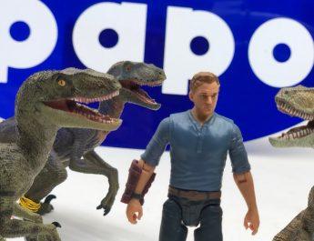 Figuras Dinosaurios Velociraptor Papo