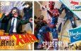 Marvel Legends Profesor X y Spider-Man Gamerverse