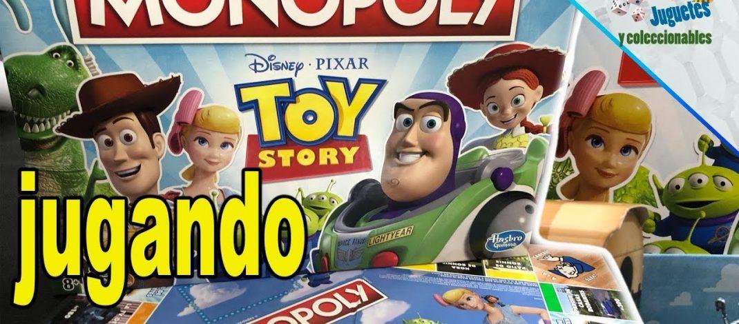 Jugando con Toy Story 4 Monopoly