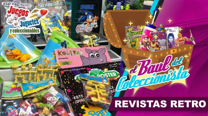revistas retro baul
