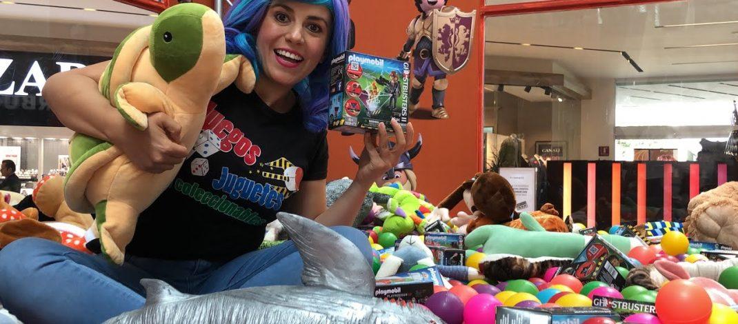 Playmobil atrapa premios en Galerías Coapa