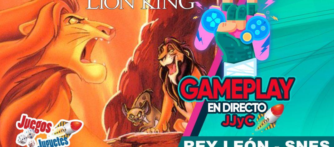 El Rey León: Videojuegos – Gameplay En Directo