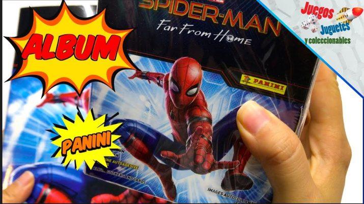 spider-man album panini