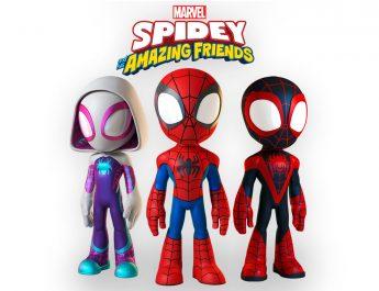 Nueva caricatura «Spidey and His Amazing Friends»