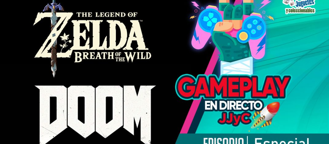 Zelda y Doom – Gameplay En Directo