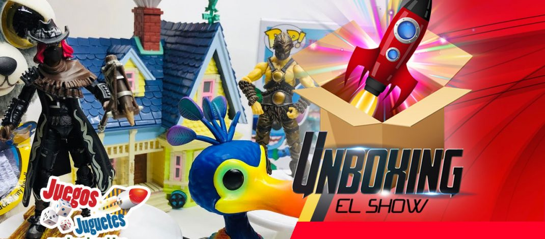 Unboxing el show – Juguetes en vivo
