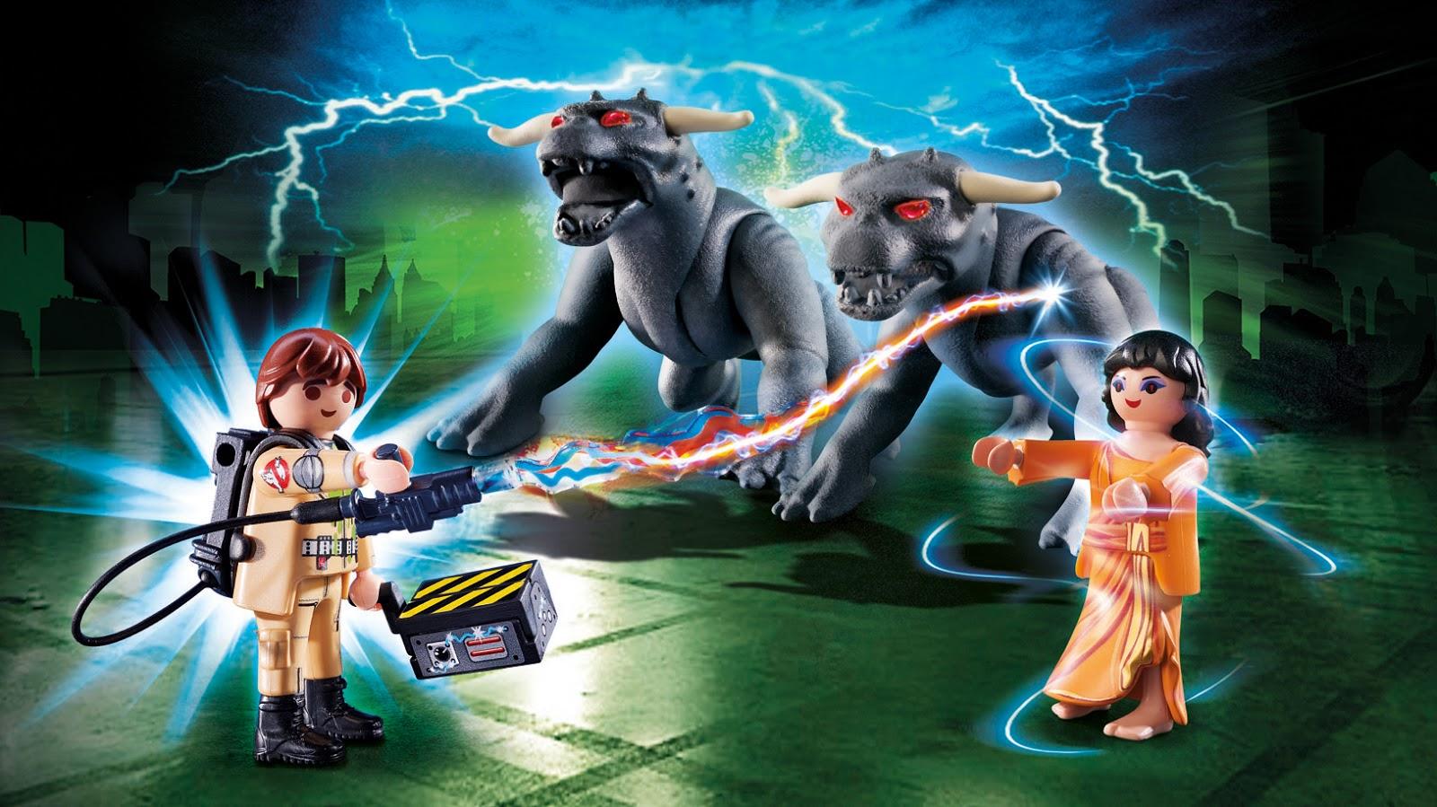 nuevos sets de cazafantasmas de Playmobil (ghostbusters