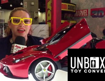 notijuegos unboxing toy convention