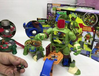 leonardo tortugas ninja micro