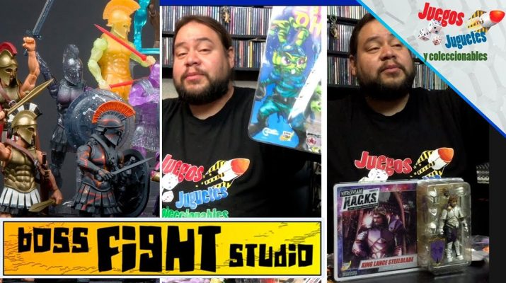boss fight studio unboxing