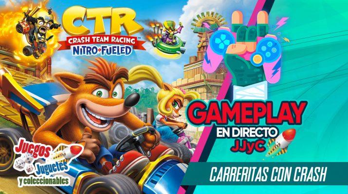 Gameplay Crash Team Racing NF