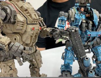 Robots Joy Toy Figuras Acción en Bikes And Toys
