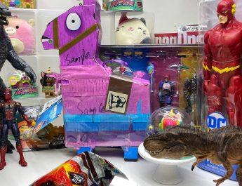 Unboxing el show – Godzilla y Fortnite