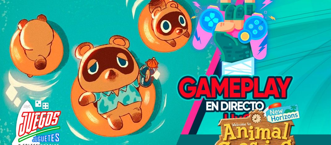 Animal Crossing New Horizons: Construyendo – Gameplay En Directo