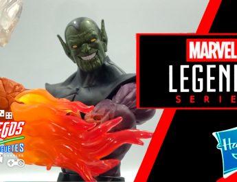 Hulk y Mujer Invisible, BAF Super Skrull – Marvel Legends